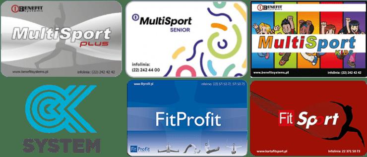 honorujemy karty multisport